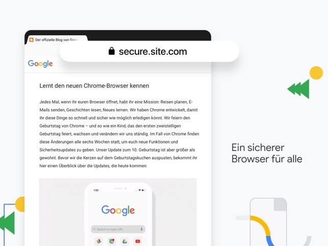 Google Chrome Screenshot