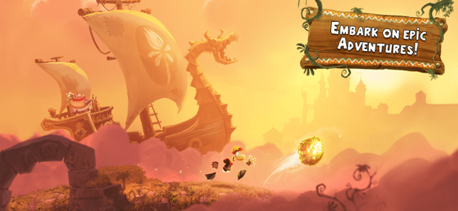 ‎Rayman Adventures Screenshot