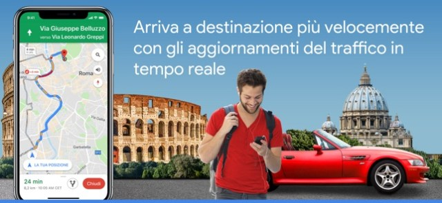 Google Maps - GPS e Ristoranti Screenshot