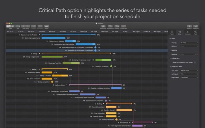 Project Office: Gantt chart Screenshot 07 x36bkn