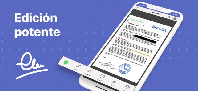 Escáner PDF-OCR de documentos Screenshot