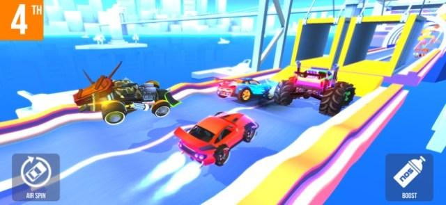 SUP Multiplayer: Race cars Screenshot