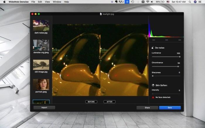 WidsMob Denoise - Noise Reduce Screenshot 02 138nyzn