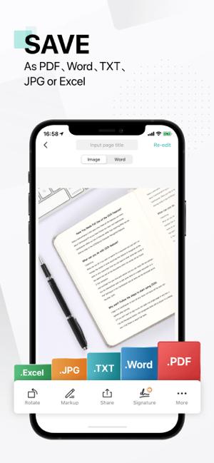 CamScanner: PDF Scanner App Screenshot