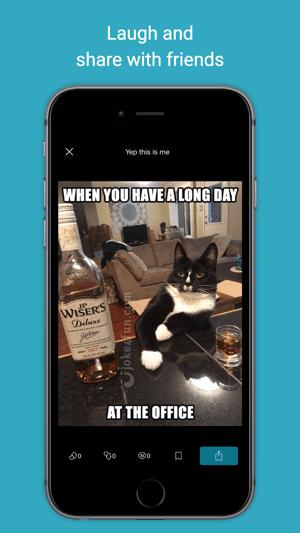 Joke4Fun App: Funny Jokes, Memes, Pics & Videos :) Screenshot