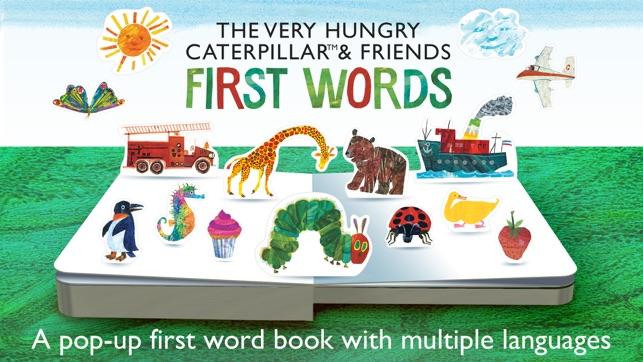 The Very Hungry Caterpillar– First Words Screenshot