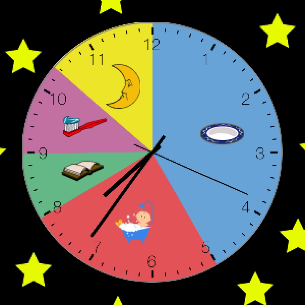 Kids Clock A Visual Activity Clock For Kids App Data Amp Review