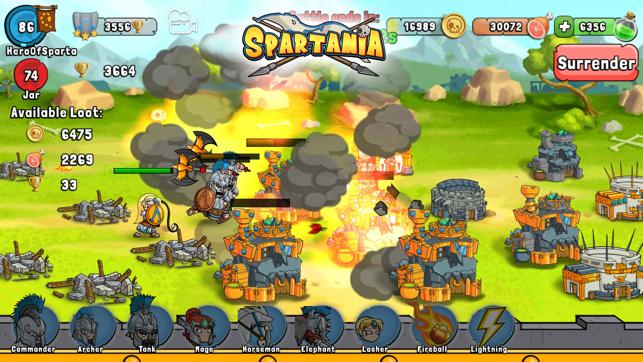 Spartania: Quest for Honor Screenshot
