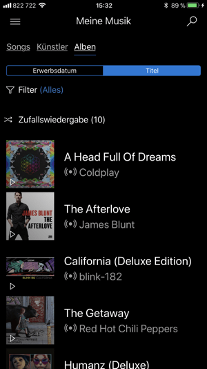 Microsoft Groove Screenshot
