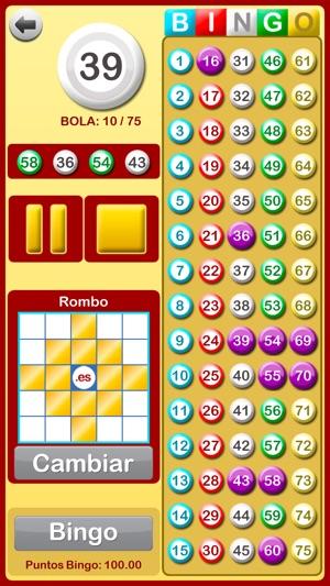 Bingo en Casa Screenshot