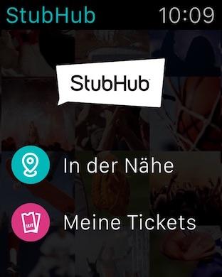 StubHub Screenshot