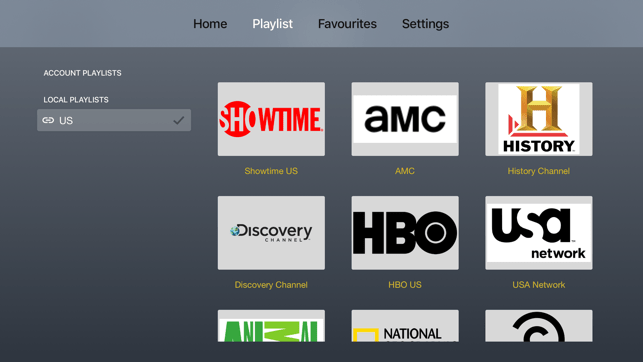 ‎IPTV Player: play m3u playlist Capture d'écran