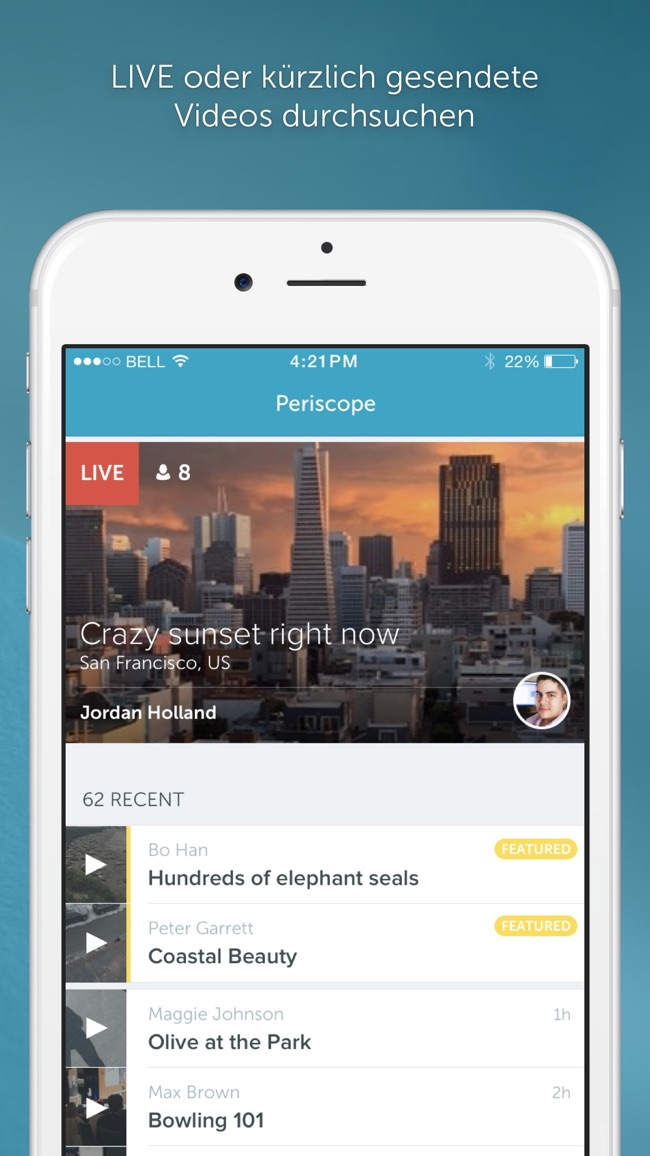 Periscope Screenshot