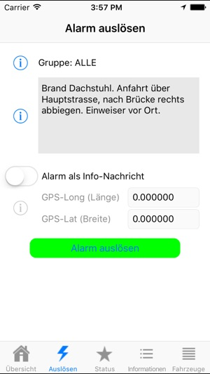 PowerAlarm Screenshot