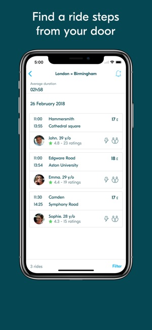 BlaBlaCar Screenshot
