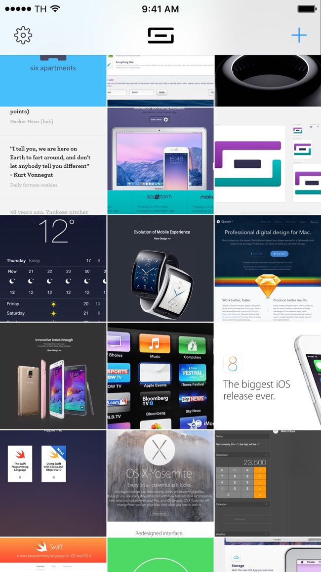 Snappy - Snapshots, the smart way. Screenshot