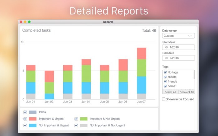 Focus Matrix – Task Manager Screenshot 03 9nlslcn
