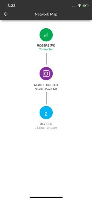 NETGEAR Mobile Screenshot