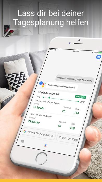392x696bb Google Assistant für iOS erschienen Google Android Software Technology
