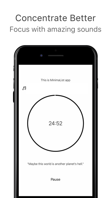 MinimaList – To Do List & Task Screenshot