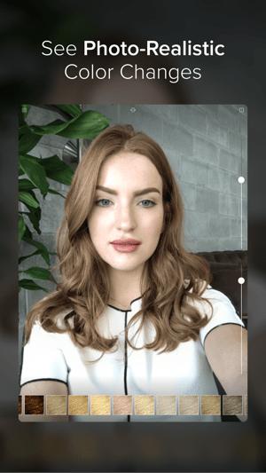 Hair Color Screenshot
