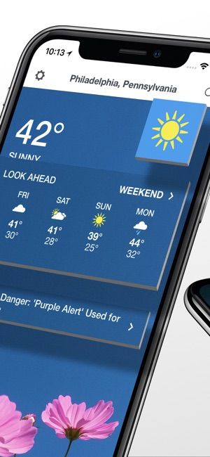 The Weather Channel: Radar Screenshot