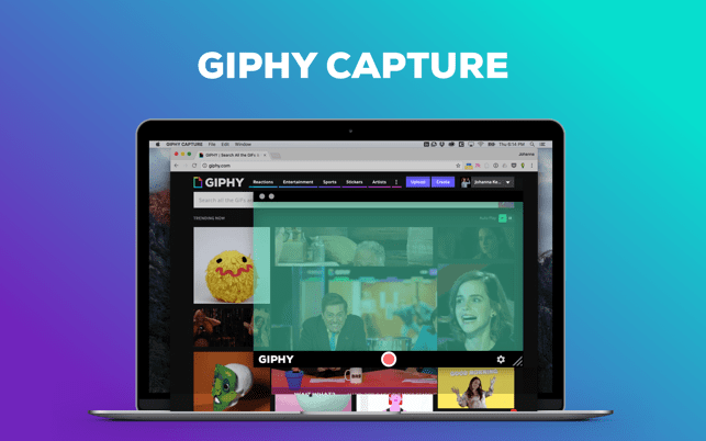 GIPHY Capture. The GIF Maker Screenshot