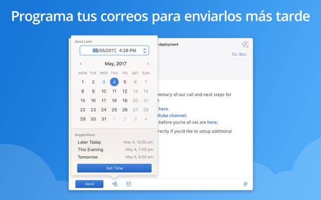 Spark - App correo de Readdle Screenshot