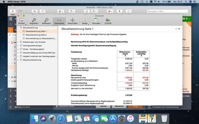 WISO steuer: 2019 Screenshot 08 9oof69n
