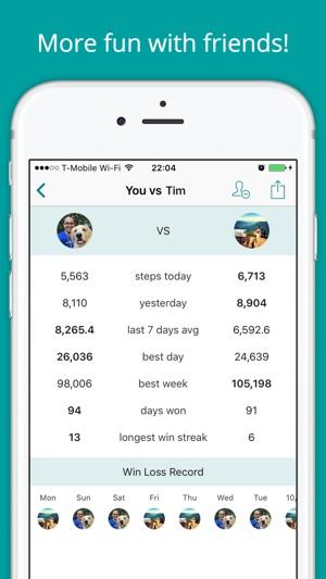 Stepup Pedometer Schrittzahler Im App Store