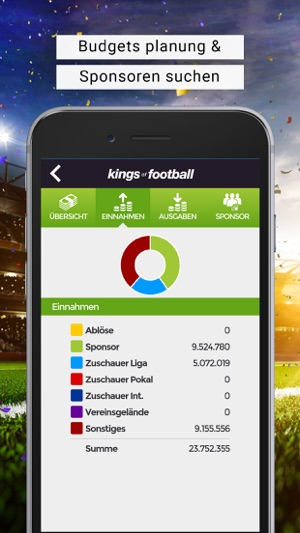 Fussball-Manager KoF Screenshot