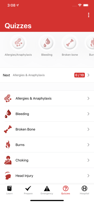 ‎First Aid: American Red Cross Screenshot