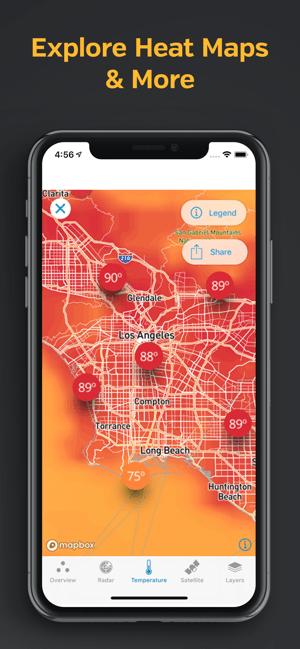 Weather Underground: Local Map Screenshot