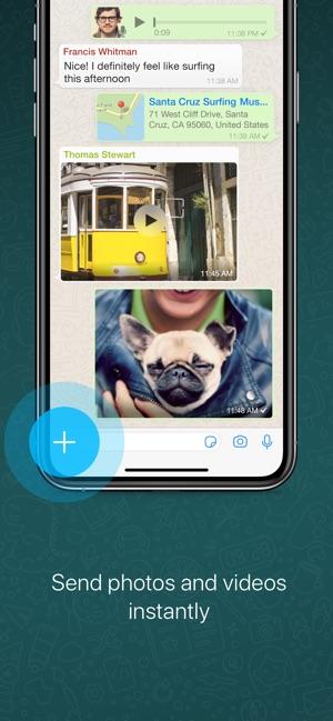 WhatsApp Messenger Capture d'écran