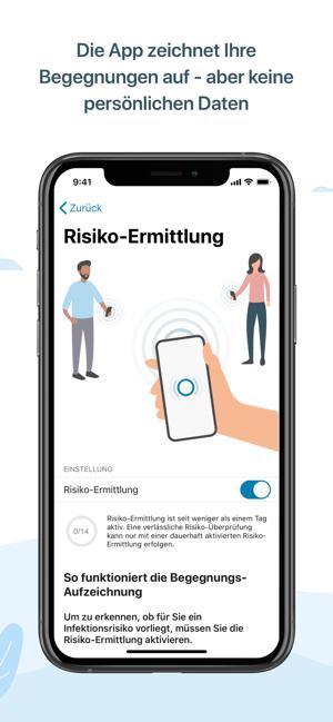 Corona Warn App Risikoermittlung Lustig