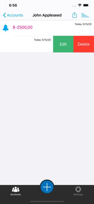 حساباتي الشخصية-Mycalculations Screenshot