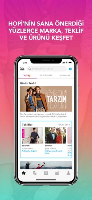 Hopi – Alışverişin App'i Screenshot