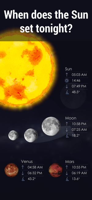 Star Walk 2 Ads+:Night Sky Map Screenshot