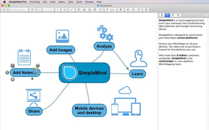 SimpleMind - Mind Mapping Screenshot 1 puand7y