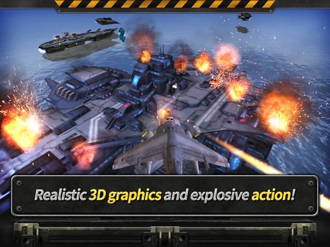 GUNSHIP BATTLE: 3D Action Screenshot