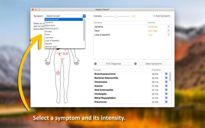 Health Check - Symptom Checker Screenshot 02 x36bkn