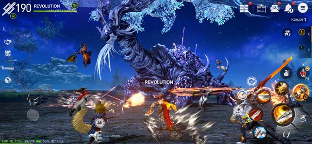 Blade&Soul: Revolution Screenshot
