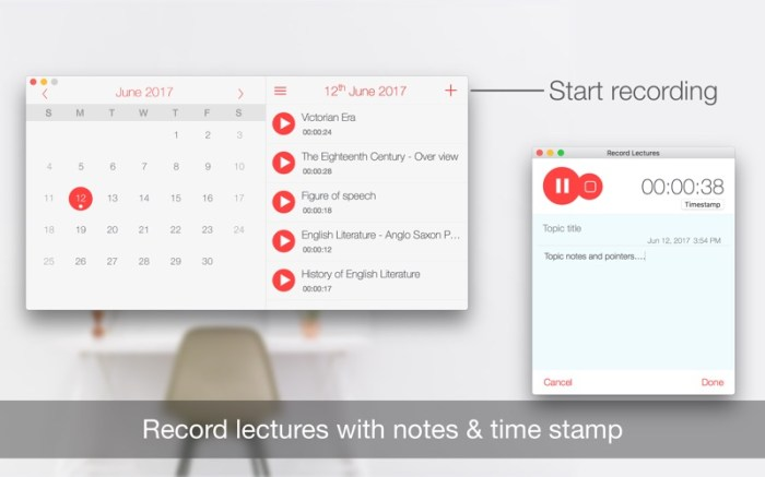 Record Lectures Screenshot 03 9nlrvun