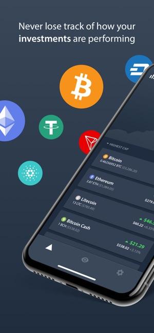 Delta Crypto Portfolio Tracker Screenshot