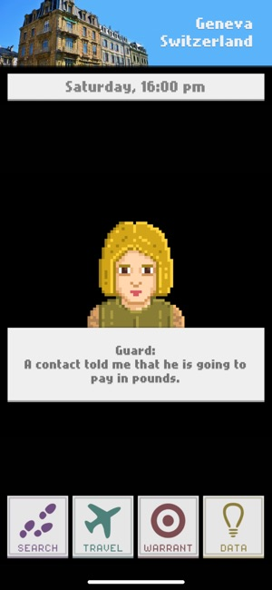 Sandiego Inc. Screenshot
