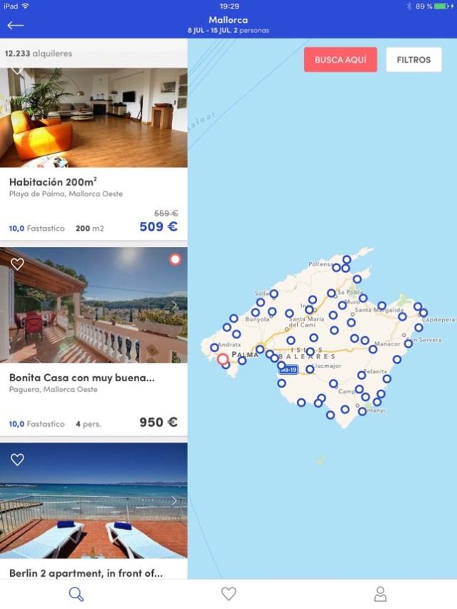 Holidu - Apartamentos Screenshot