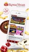 Royal Vegas オンラインカジノスクリーンショット1