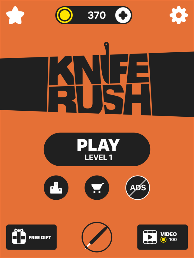 ‎Knife Rush Screenshot