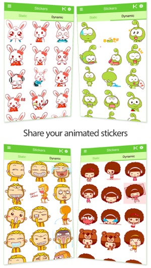 Stickers Packs for WhatsApp! Screenshot