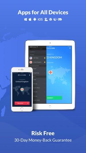 SaferVPN - Best VPN for WiFi Screenshot